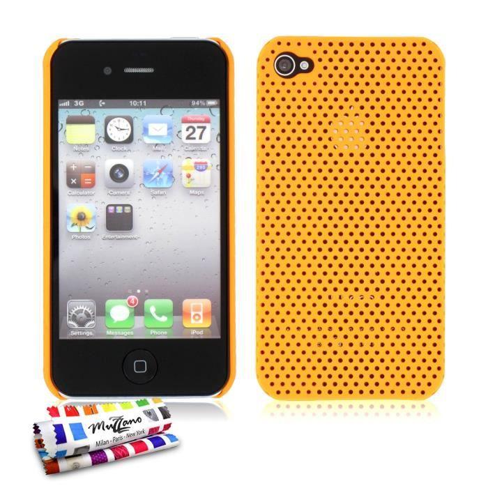 coque alv olia apple iphone 4s orange achat coque bumper pas cher avis et meilleur prix. Black Bedroom Furniture Sets. Home Design Ideas
