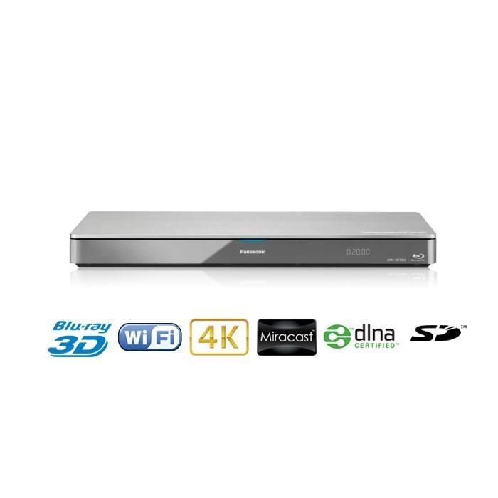 panasonic dmp bdt460 lecteur blu ray 3d wifi 4k lecteur blu ray avis et prix pas cher cdiscount. Black Bedroom Furniture Sets. Home Design Ideas