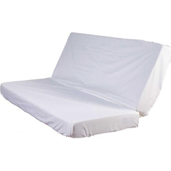 prot ge matelas molleton imperm able 100 coton pour clic clac 70 70x190 achat vente. Black Bedroom Furniture Sets. Home Design Ideas