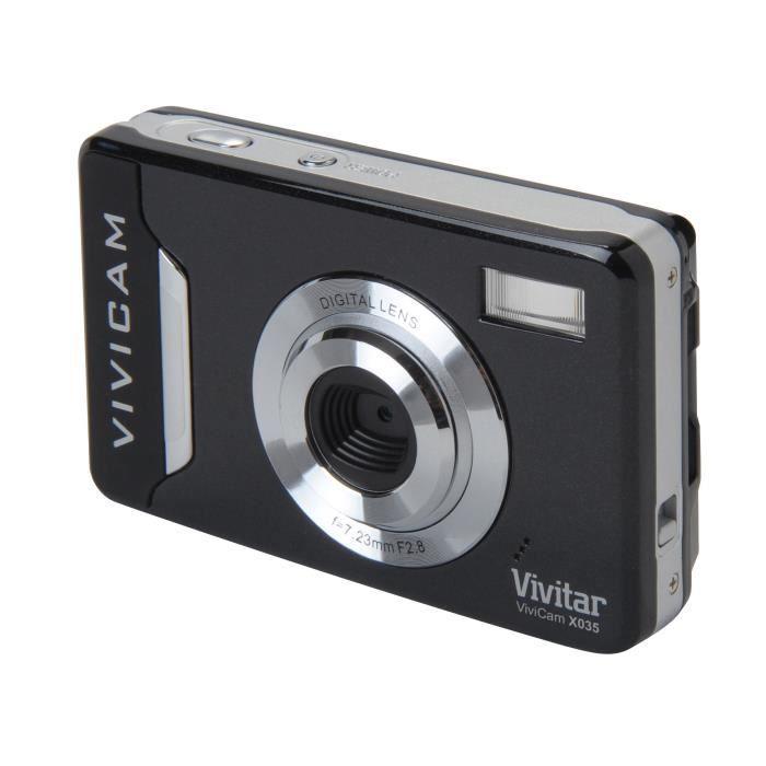APPAREIL PHOTO COMPACT VIVITAR VX035 Compact Noir - Capteur 10 MP Zoom 4x