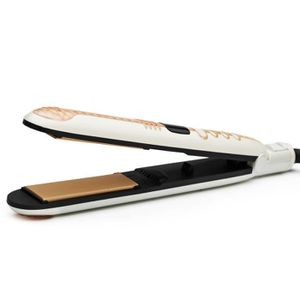 Brosse pince lissante