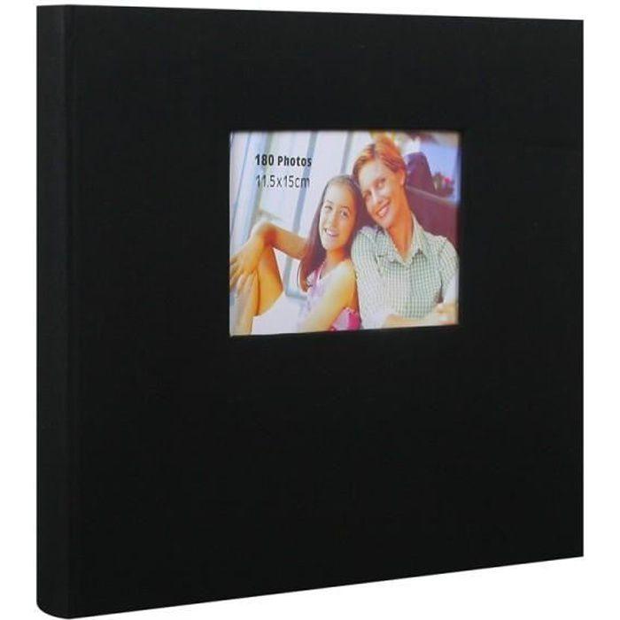 album photo erica prestige adh sif 340x330 mm noir achat vente album album photo cdiscount. Black Bedroom Furniture Sets. Home Design Ideas