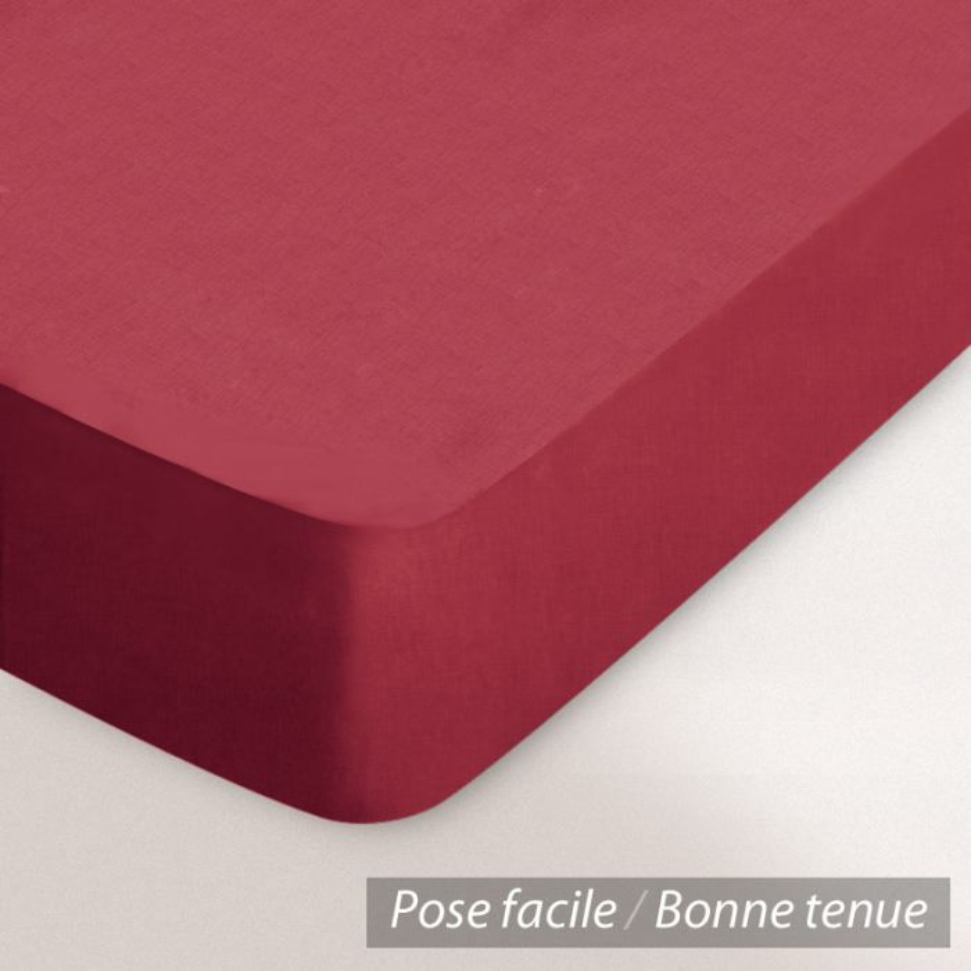 drap housse coton 140x200 garance achat vente drap housse cdiscount. Black Bedroom Furniture Sets. Home Design Ideas