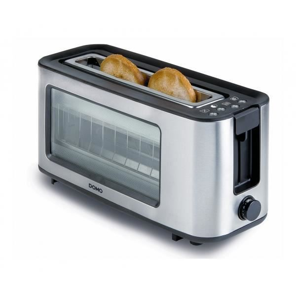 aicok grille-pain 2-tranches avec fonction bagel, toucher froid