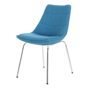 Chaise bleue achat vente chaise bleue pas cher for Chaise bleu turquoise