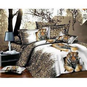 linge de lit animaux achat vente linge de lit animaux pas cher soldes cdiscount. Black Bedroom Furniture Sets. Home Design Ideas
