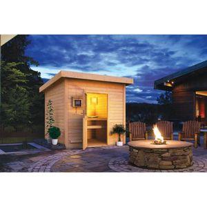 Chalet en bois kit achat vente chalet en bois kit pas for Kit sauna exterieur