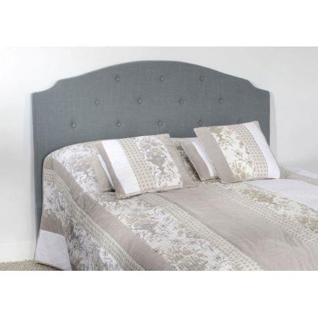 t te de lit 160 gris f x100 10 amadeus achat vente. Black Bedroom Furniture Sets. Home Design Ideas