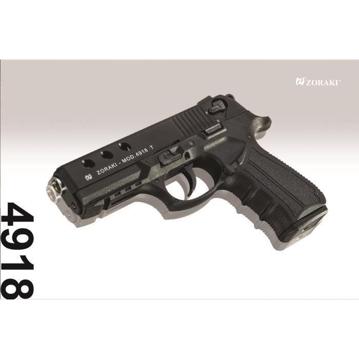 Zoraki 4918 black arme de d fense cal 9mm p a k prix pas cher les soldes sur cdiscount - Arme pas cher ...