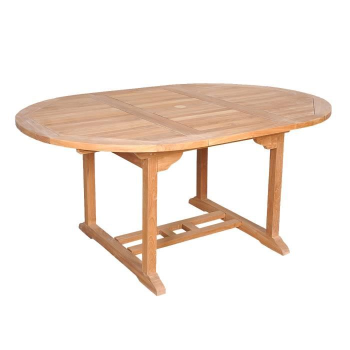Table De Jardin En Teck Brut Qualite Grade A 6 Achat