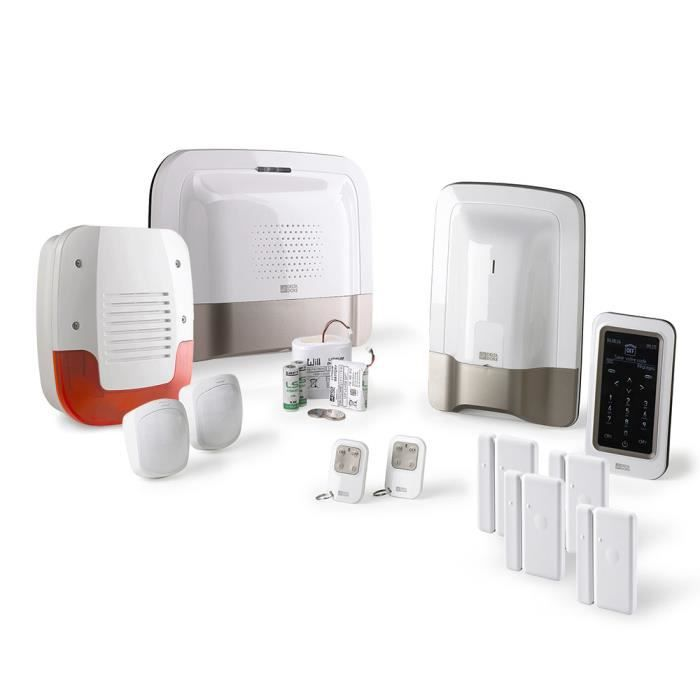 Alarme maison gsm delta dore tyxal kit n 3 achat vente kit alarme cdiscount for Alarme delta dore tyxal