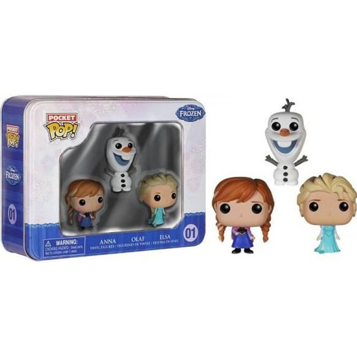 Figurine La Reine des Neiges (Frozen) 7 cm : Elsa Jakks Pacific  Magasin de