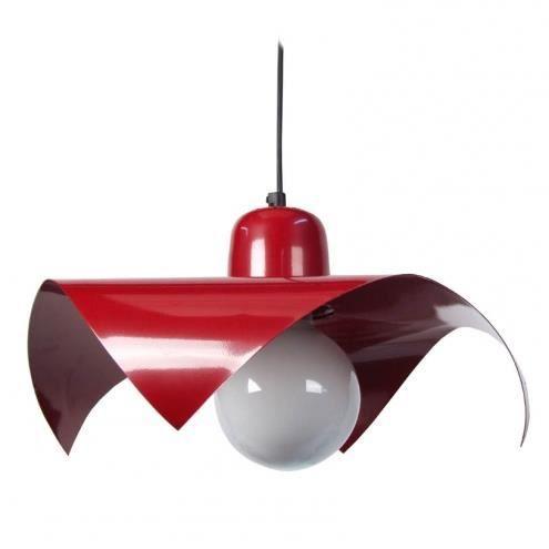 suspension m tal rouge web achat vente suspension m tal rouge web cdiscount. Black Bedroom Furniture Sets. Home Design Ideas