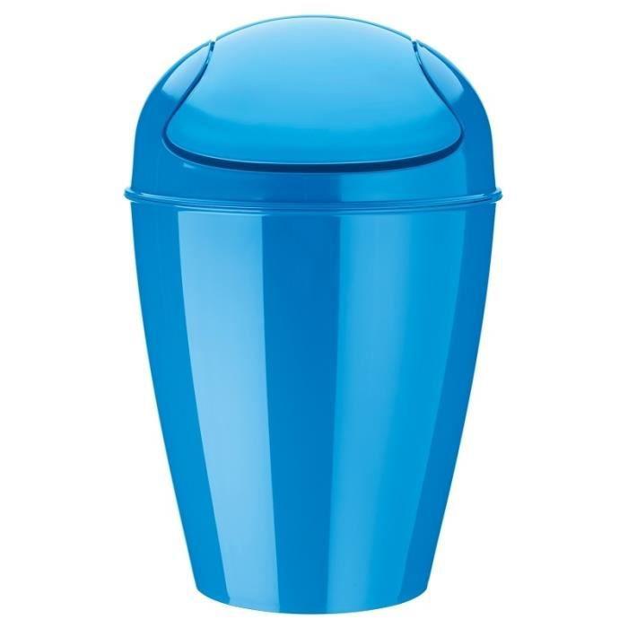 poubelle avec couvercle basculant 12l del by achat vente poubelle corbeille poubelle. Black Bedroom Furniture Sets. Home Design Ideas
