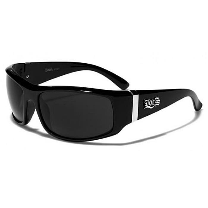 locs lunettes de soleil mode moto ski noir achat vente lunettes de soleil mixte. Black Bedroom Furniture Sets. Home Design Ideas