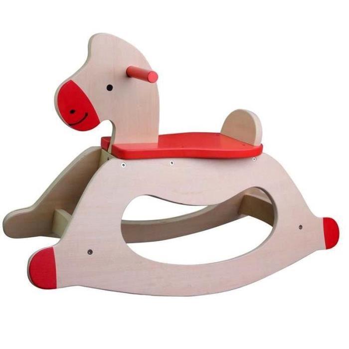 jouet premier age cheval a bascule en bois enfa achat vente jouet bascule cheval a. Black Bedroom Furniture Sets. Home Design Ideas