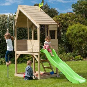 chalet en bois enfant achat vente jeux et jouets pas chers. Black Bedroom Furniture Sets. Home Design Ideas