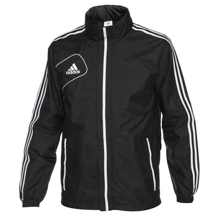 Adidas veste coupe vent homme noir et blanc achat vente veste cache c ur adidas veste - Veste coupe vent adidas femme ...