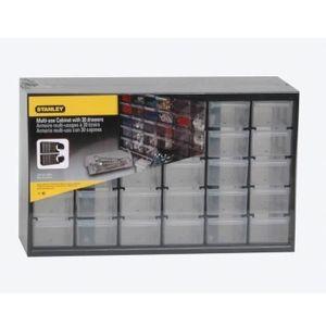 STANLEY Casier de rangement 30 compartiments vide