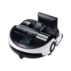 Moteur Digital Inverter: Aspiration 60 fois plus puissante que les aspirateurs robots classiques - 7 programmes - Autonomie 60 min - Capacité: 0.7L - Niveau sonore: 76 dB - Temps de charge! 160min - Roues Easy Pass: franchissent facilement les obstacles -
