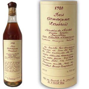DIGESTIF EAU DE VIE Armagnac Domaine du charlot 1980 46.8° 70cl