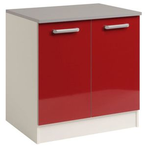 meuble sous vier 80cm achat vente meuble sous vier 80cm pas cher cdiscount. Black Bedroom Furniture Sets. Home Design Ideas