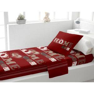 parure de draps lit 1 personne achat vente parure de draps lit 1 personne pas cher cdiscount. Black Bedroom Furniture Sets. Home Design Ideas