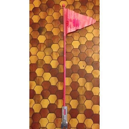drapeau fanion de s curit velo remorque fille prix pas cher cdiscount. Black Bedroom Furniture Sets. Home Design Ideas