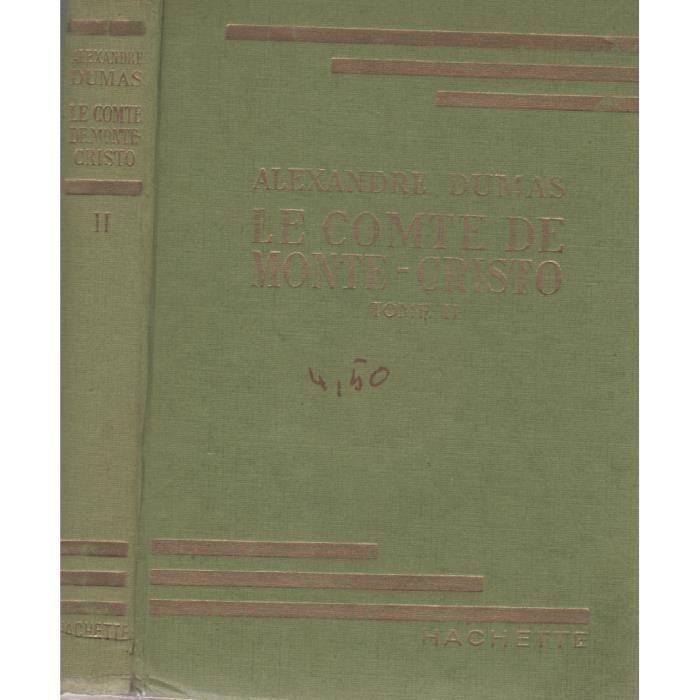 Le comte de monte cristo tome ii de alexandre d achat for Andre caplet le miroir de jesus