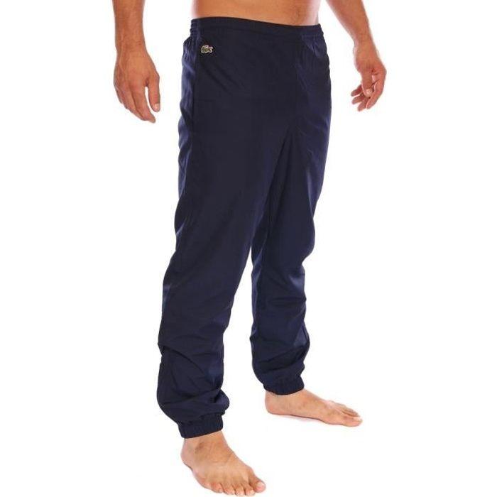 lacoste homme bas de jogging suv tement bleu marine xh120t 166 bleu fonc achat vente. Black Bedroom Furniture Sets. Home Design Ideas