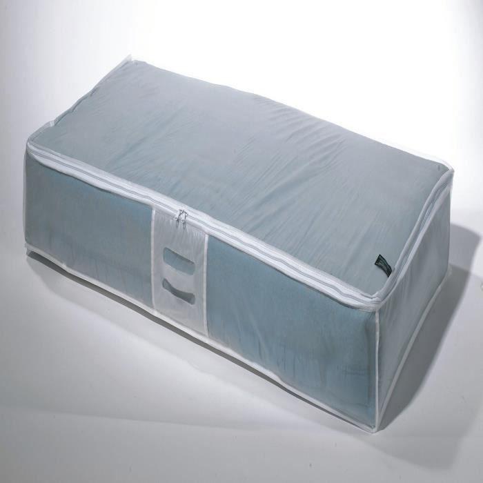 Housse extra plate milky en p va blanc 107x46x16 cm achat vente housse ha - Rangement dessous lit ...