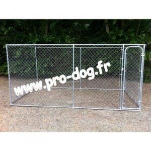 chenil parc enclos chiot chien 2 30 x 2 30 x h achat vente enclos chenil chenil parc. Black Bedroom Furniture Sets. Home Design Ideas
