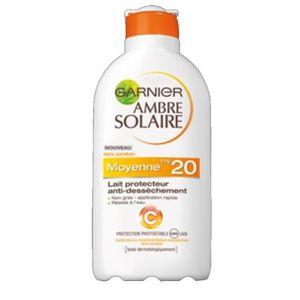 SOLAIRE CORPS VISAGE GARNIER - Lait protecteur anti dessèchement 400ml