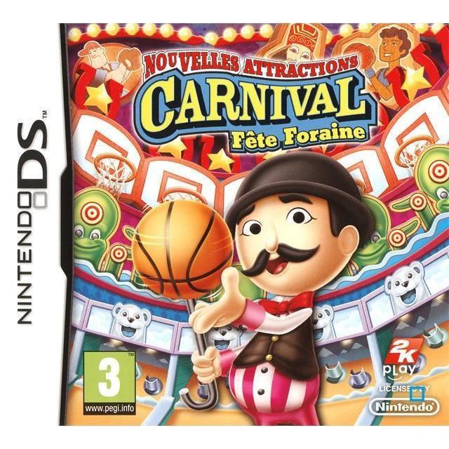 JEUX DS CARNIVAL Nouvelles Attractions / Jeu console DS