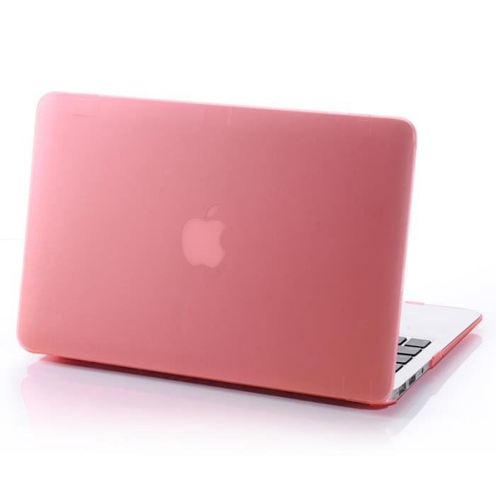 housse macbook pro 13 subway translucide shell solide