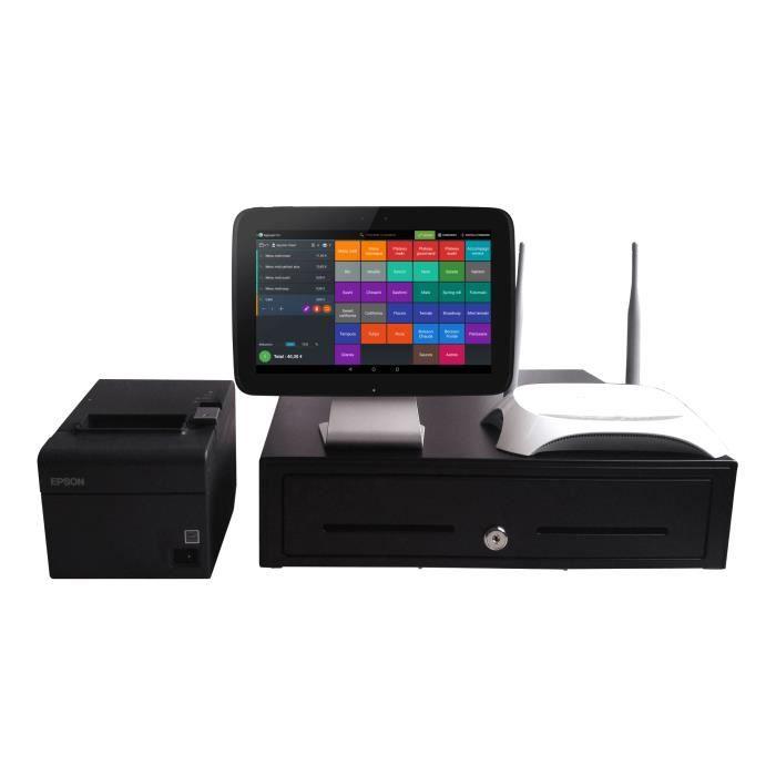 pack caisse enregistreuse tactile sur tablette android achat vente calculatrice pack. Black Bedroom Furniture Sets. Home Design Ideas