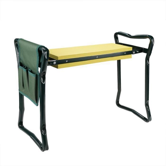 chaise pliant chaise de jardin si ge prie dieu genoux pad reste ext rieur pelouse plage. Black Bedroom Furniture Sets. Home Design Ideas