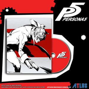 JEU PS4 NOUVEAUTÉ Persona 5 Steelbook Day One Edition Jeu PS4