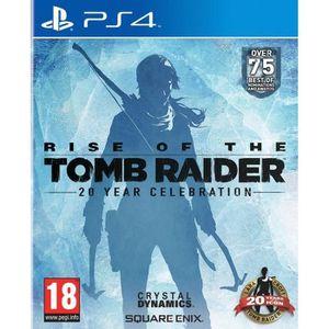 JEU PS4 Rise of the Tomb Raider 20ème anniversaire Ps4