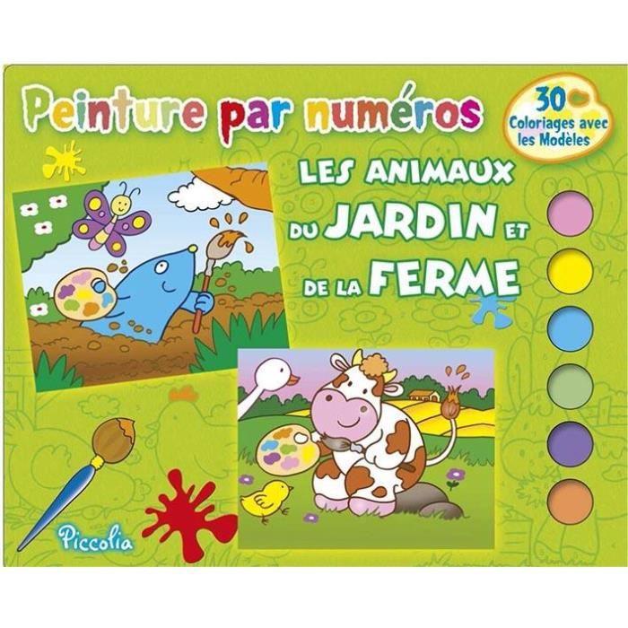 Les animaux du jardin et de la ferme achat vente livre collectif piccolia parution 01 06 - Les animaux du jardin ...
