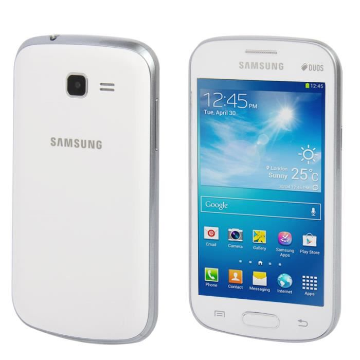 T l phone factice samsung galaxy trend lite blanc achat - Samsung galaxy trend lite noir fiche technique ...