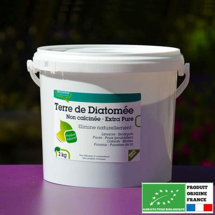Terre de diatom e alimentaire non calcin e 2 kg achat vente traitements plantes terre de - Traitement savon noir bicarbonate ...