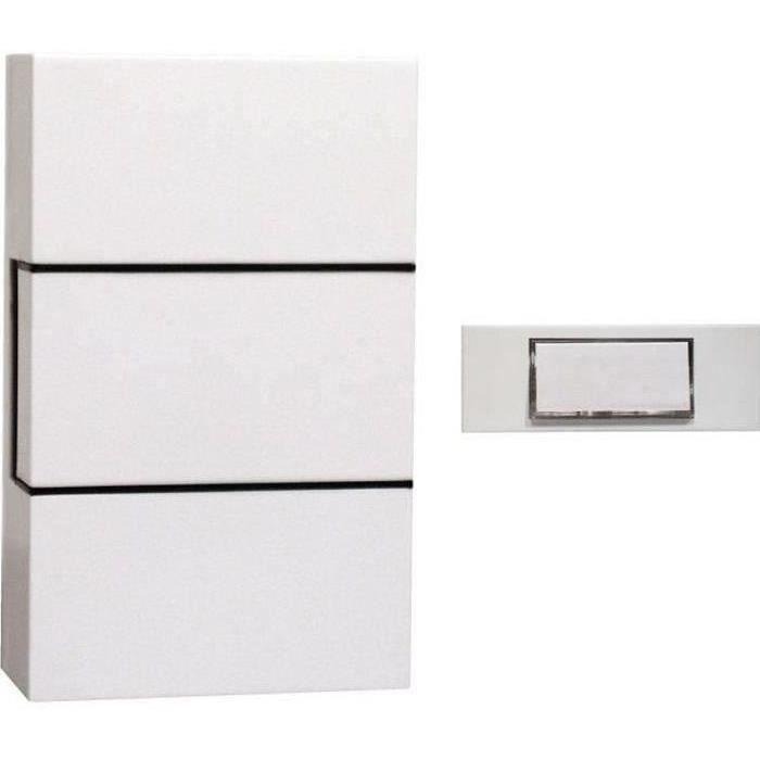 bouton de sonnette filaire pas cher. Black Bedroom Furniture Sets. Home Design Ideas