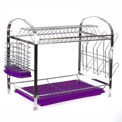 egouttoir a vaisselle plateau violet achat vente. Black Bedroom Furniture Sets. Home Design Ideas