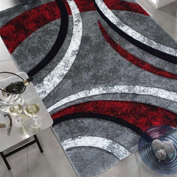Tapis salon havana prestige gris 200x290 par - Tapis shaggy gris 200x290 ...