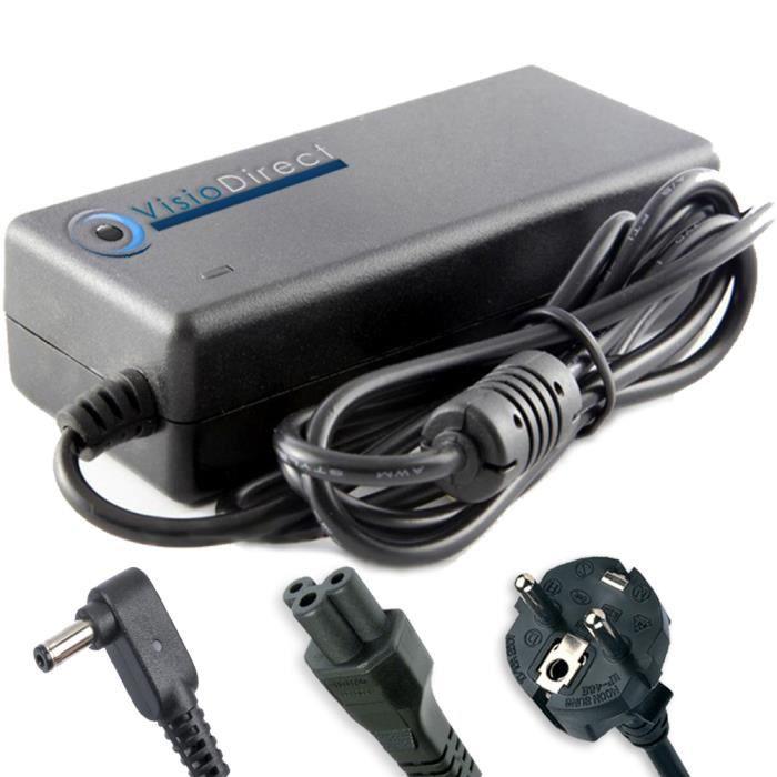 Alimentation pour asus x205ta fd0061ts adaptateur chargeur for Diametre exterieur cable electrique