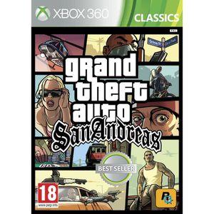 JEUX XBOX 360 GTA San Andreas Jeu Xbox 360