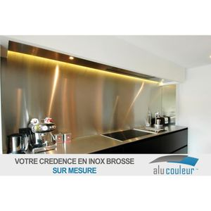 credence inox achat vente credence inox pas cher cdiscount. Black Bedroom Furniture Sets. Home Design Ideas