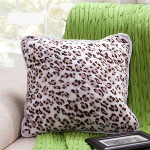 housse de coussin leopard achat vente housse de coussin leopard pas cher cdiscount. Black Bedroom Furniture Sets. Home Design Ideas