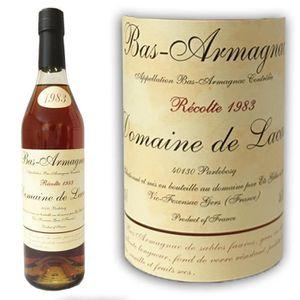 DIGESTIF EAU DE VIE Armagnac Lacaze 1983 46.4°